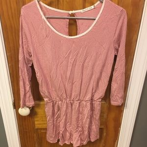 Heart and hips romper